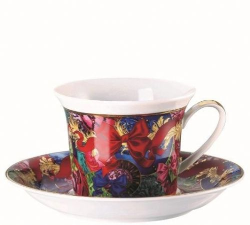Versace Reflections of Holidays Cappuccino Cup & Saucer